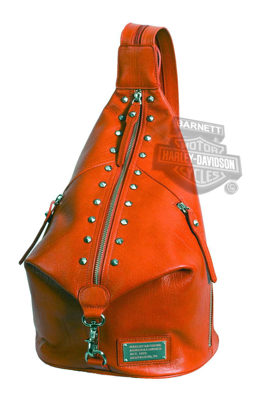 Leather One Strap Backpack - Crazy Backpacks