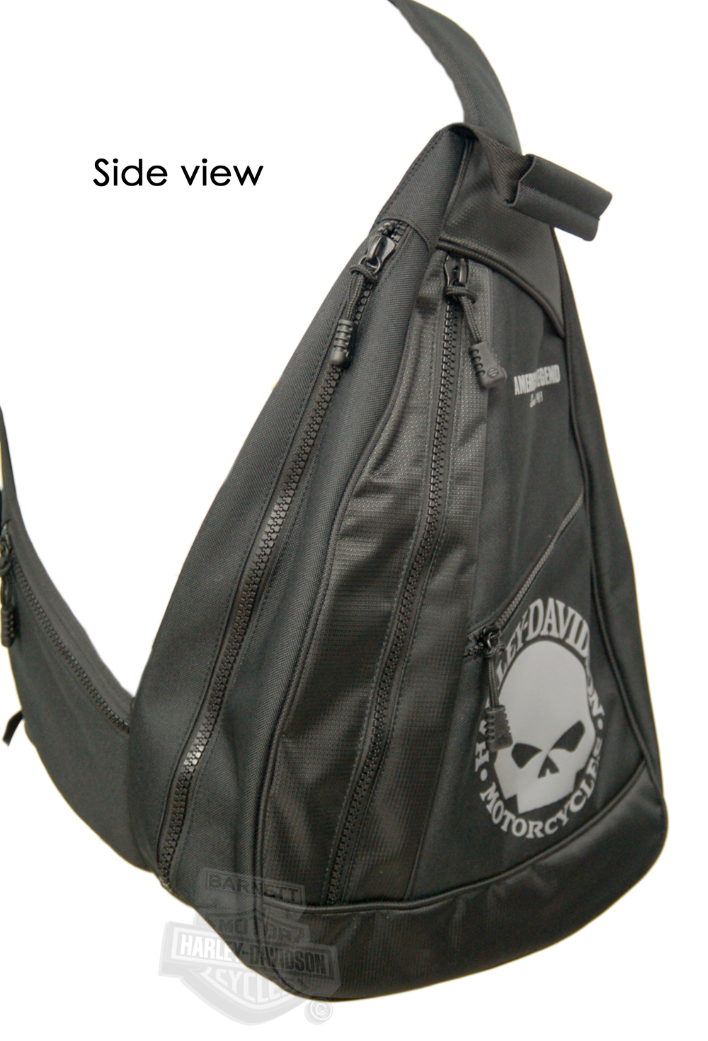 BP1957S-G - Harley-Davidson® Backpack Black/Grey Sling Willie G ...