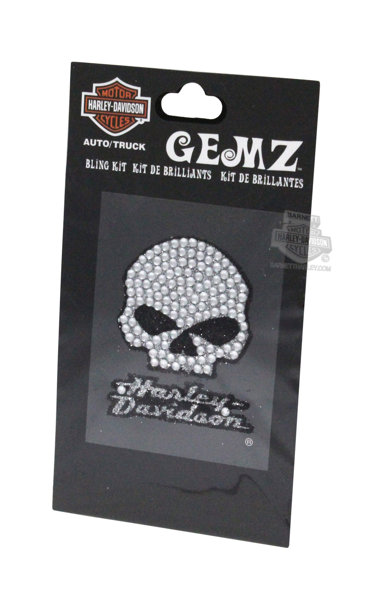 Cg337 Harley Davidson 174 Willie G Gemz Bling Decal Kit