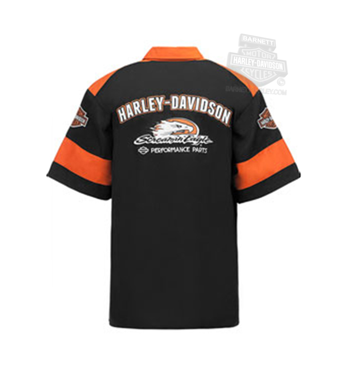 Harley DavidsonR Mens Screamin Eagle Racing Crew BampS Black