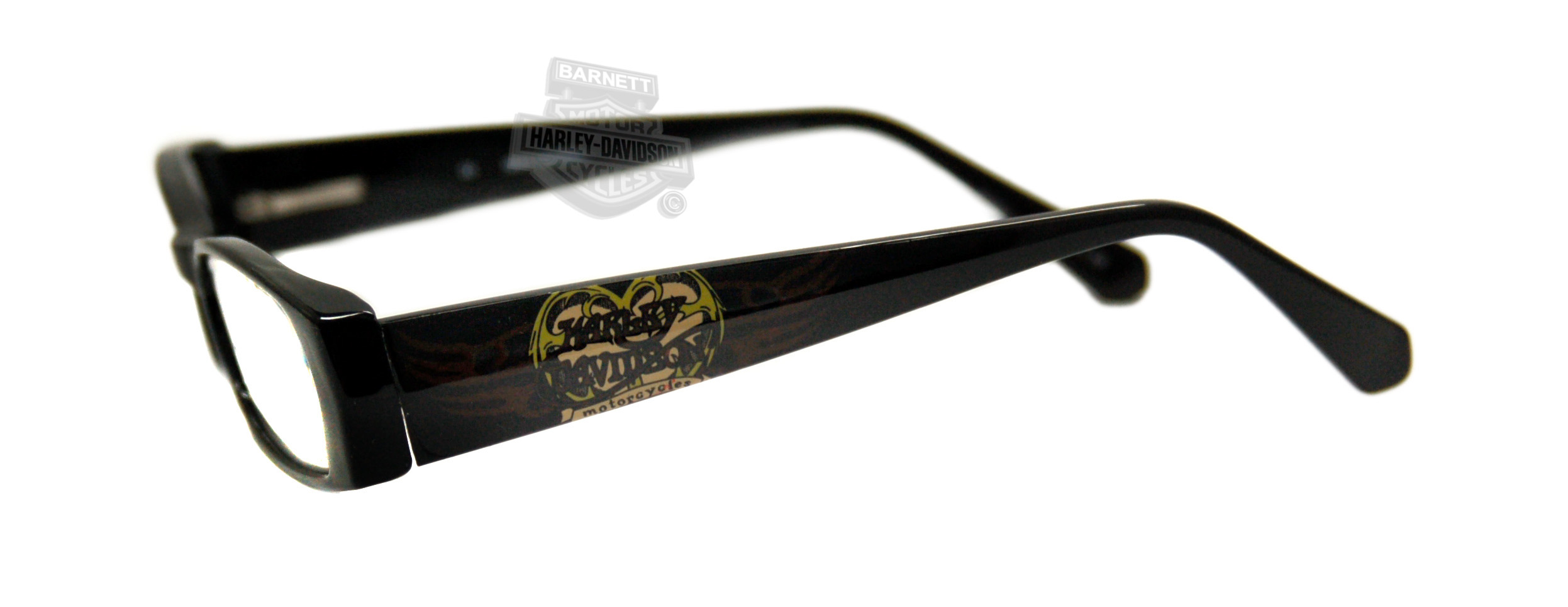 harley davidson hd3004blk black frame reading glasses by viva eyewear hd3004blk