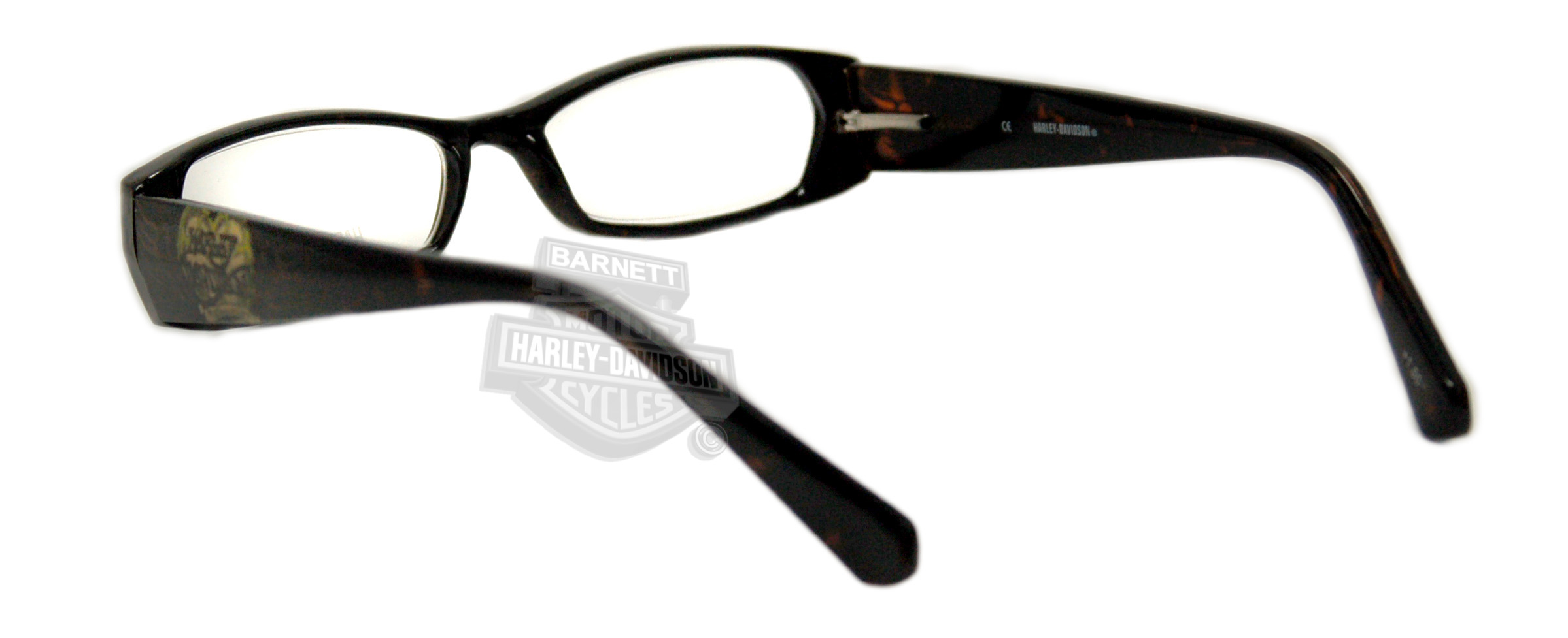 harley davidson hd3004to tortoise frame reading glasses by viva eyewear hd3004to