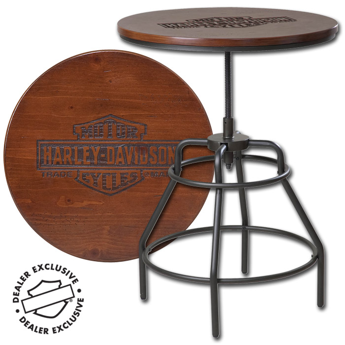 Hdl 12320 Harley Davidson 174 Nostalgic Bar Amp Shield Wood