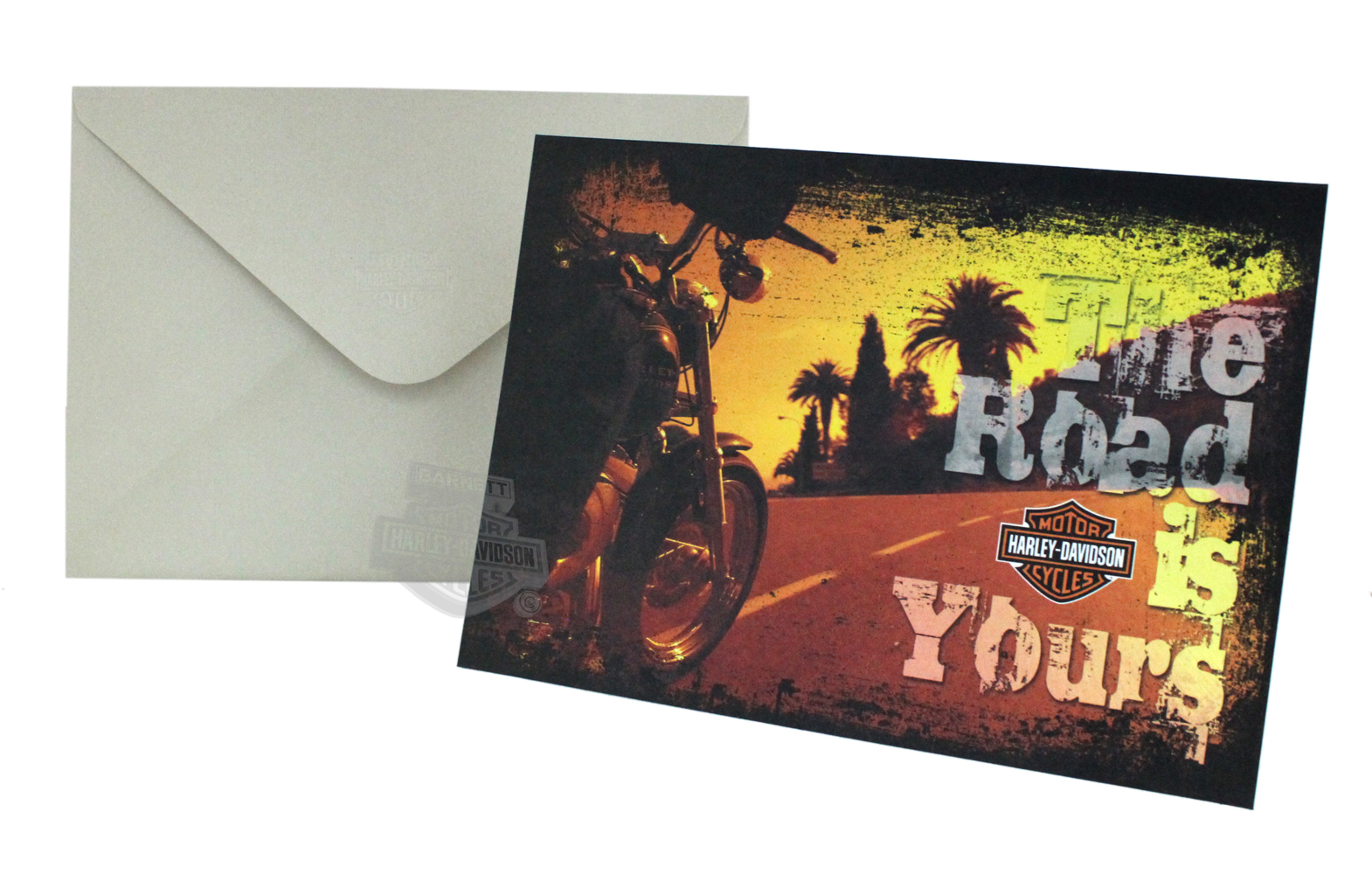 Hdl 20017 harley davidson the road is yours retirement greeting image property of barnett harley davidson kristyandbryce Gallery
