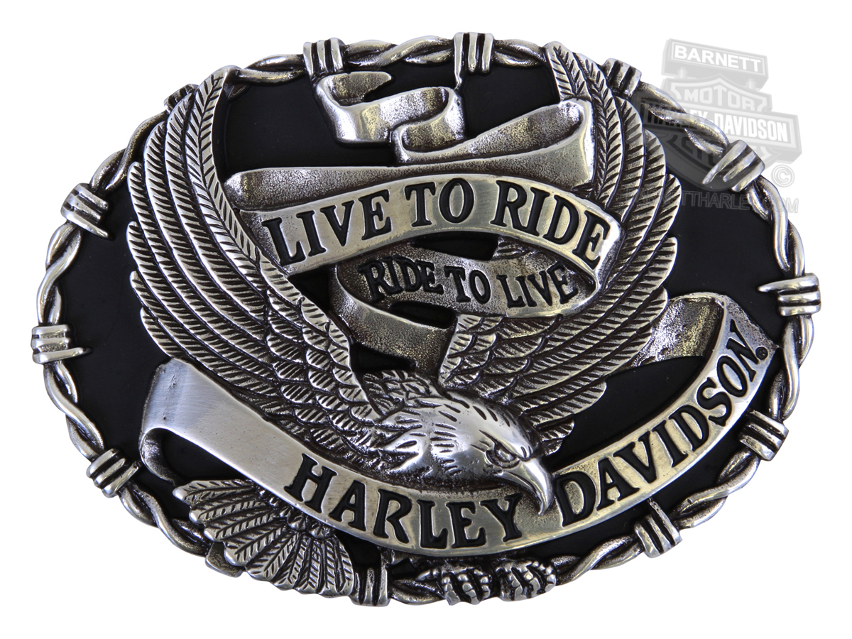 hdmbu10449 - harley-davidson® mens breezer eagle banner with