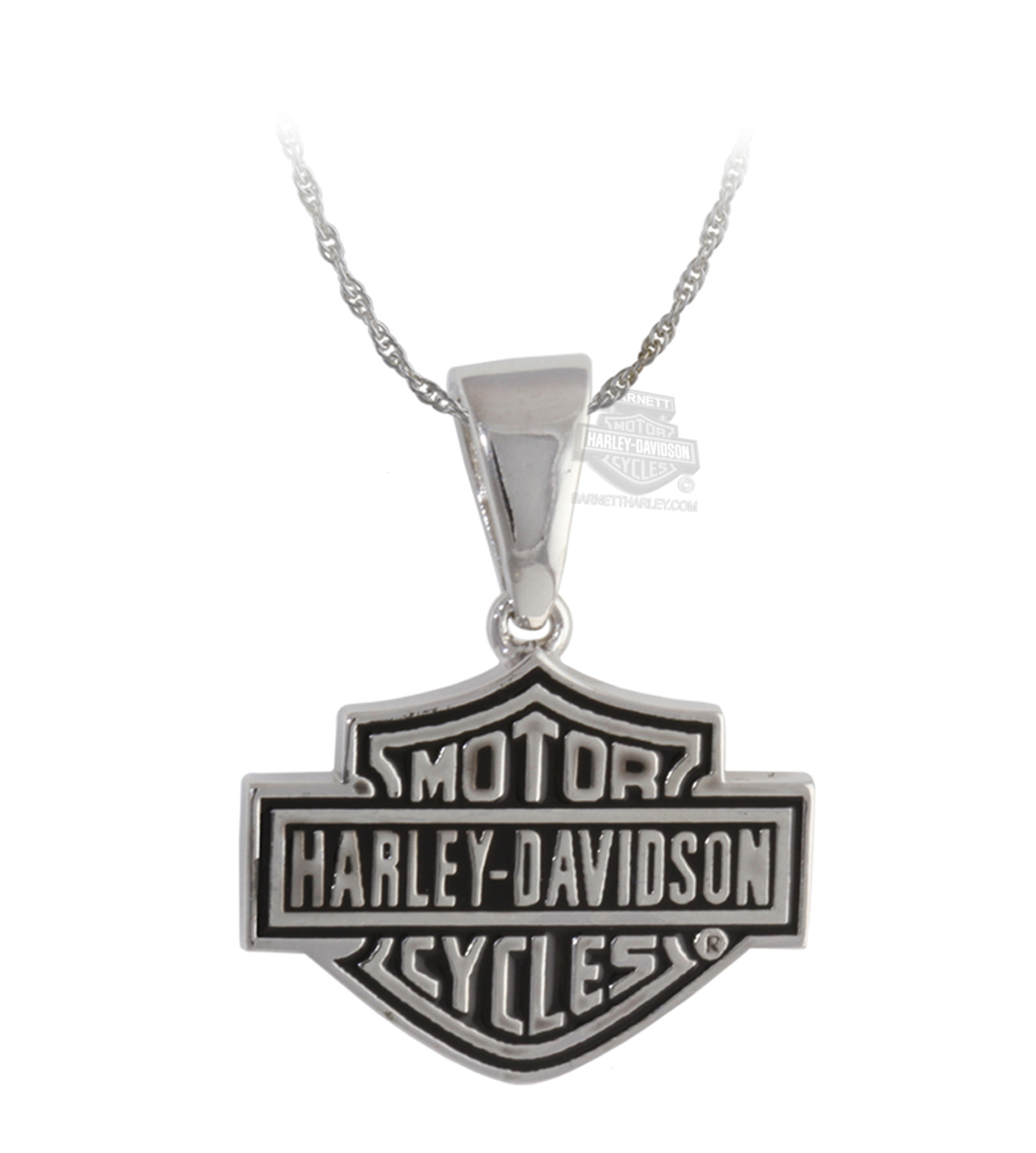 hn7504 harley davidson 174 womens classic b s necklace by