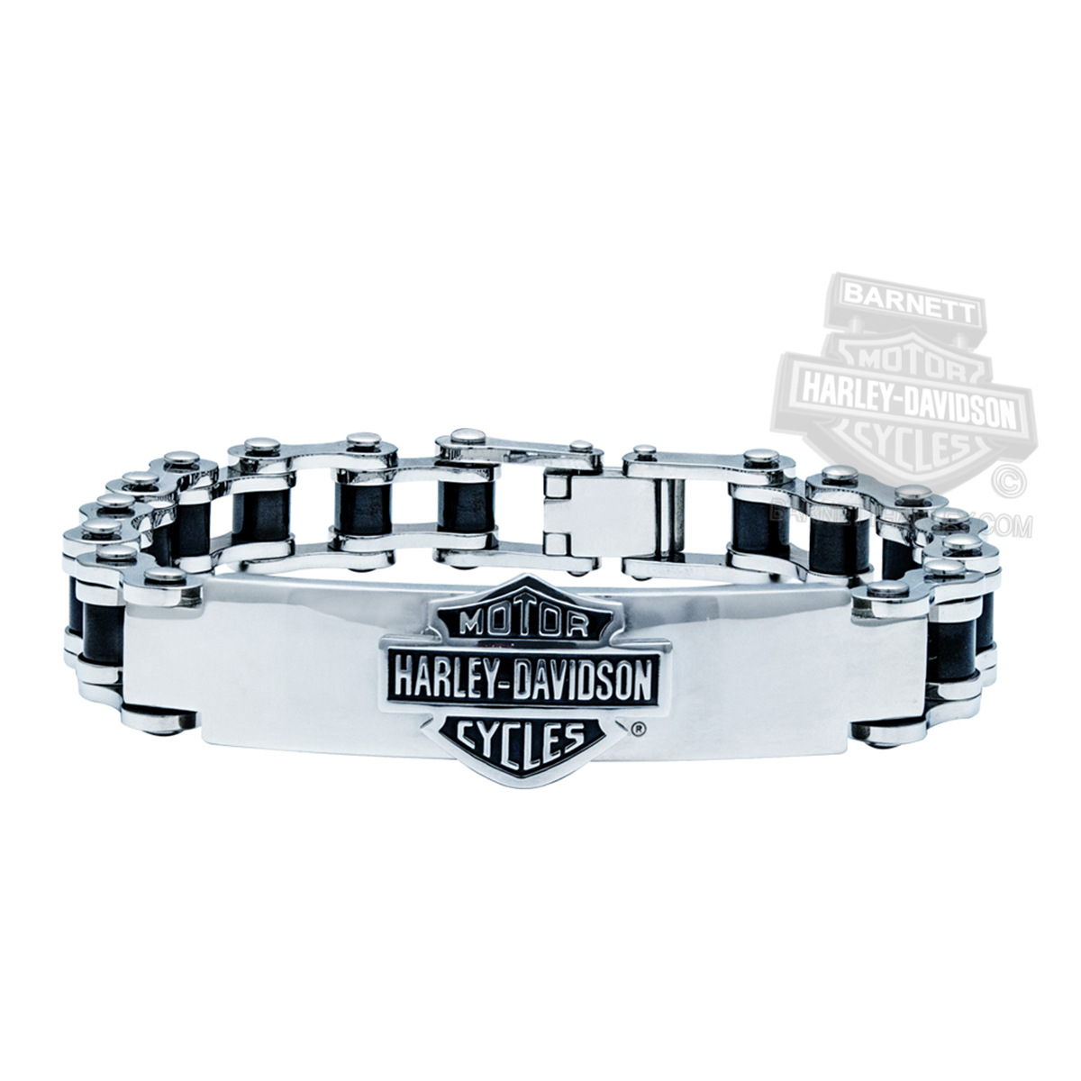 HSB0071 HarleyDavidson Mens Stainless Steel BS Steel Bike Chain