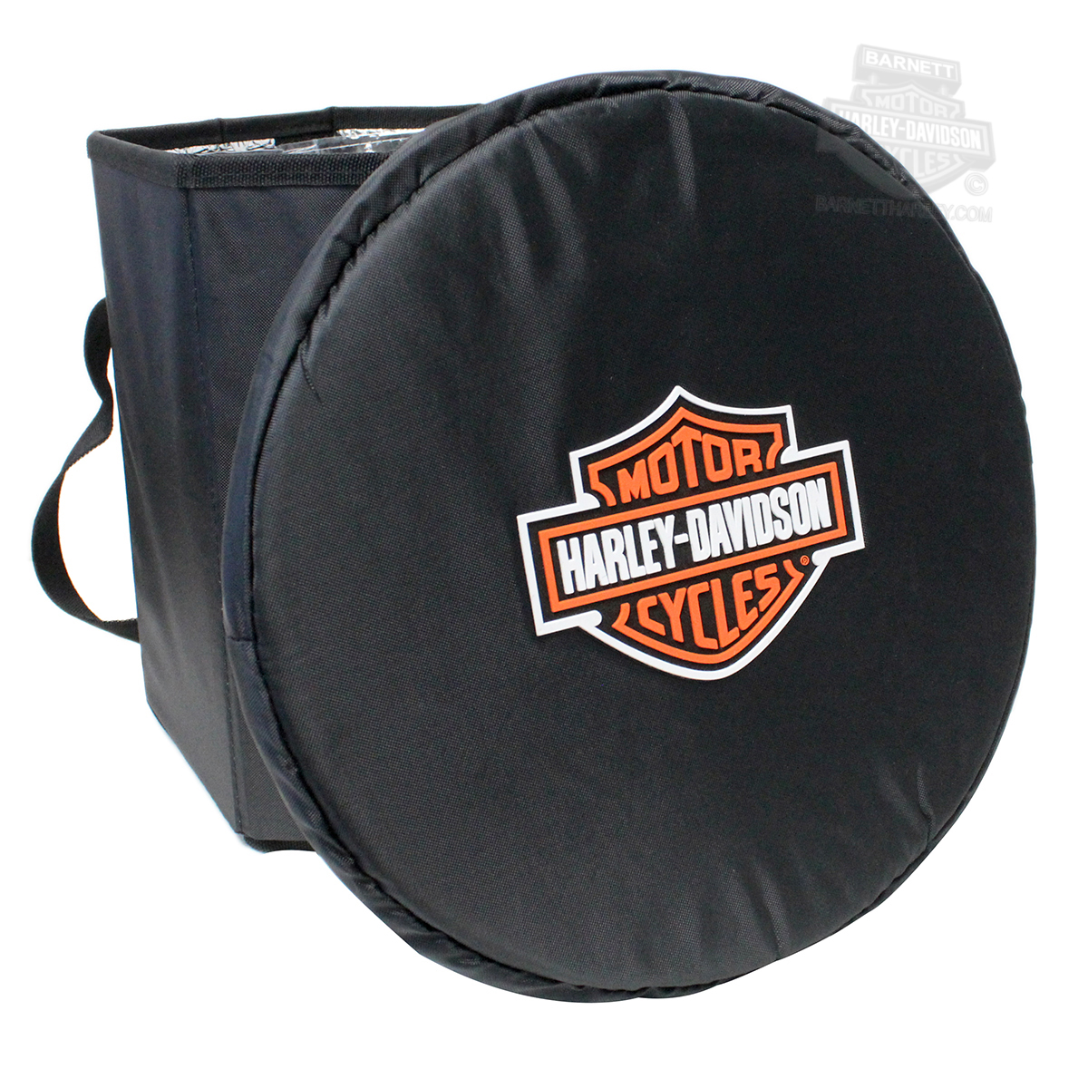 Harley-Davidson® Bongo B&S Logo Collapsible Black Cooler