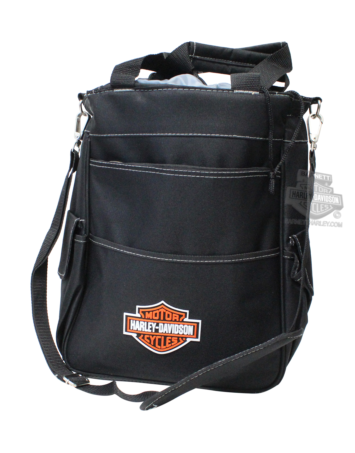 Harley-Davidson® Activo B&S Logo Insulated Black Cooler Tote