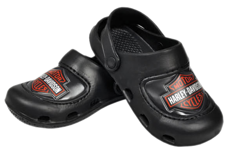 Harley-Davidson® Boys Youth B&S Molded Clog Black