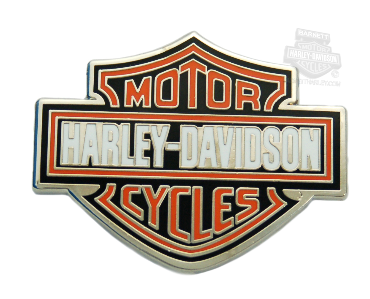 Harley-Davidson® Orange Bar & Shield Pin