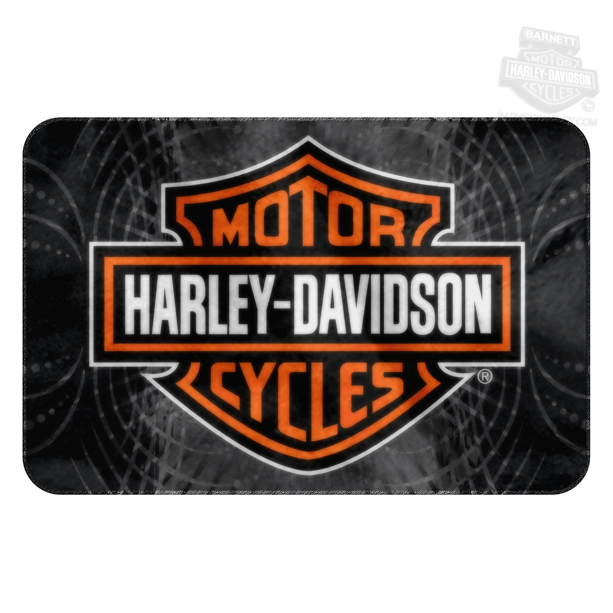 Harley Davidson Area Rug Home Decor