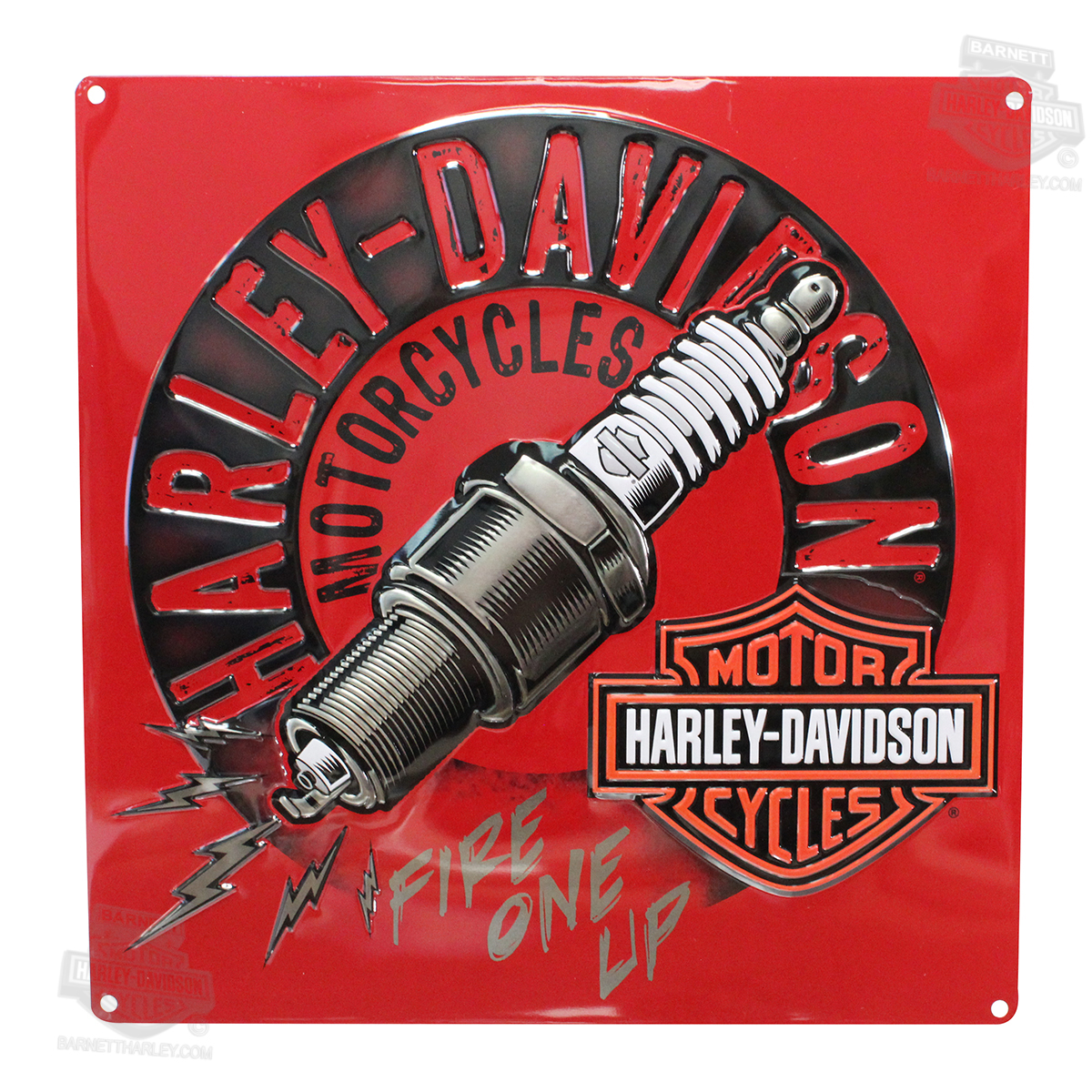 Harley Davidson Wall Decor barnett harley-davidson wall decor metal signs