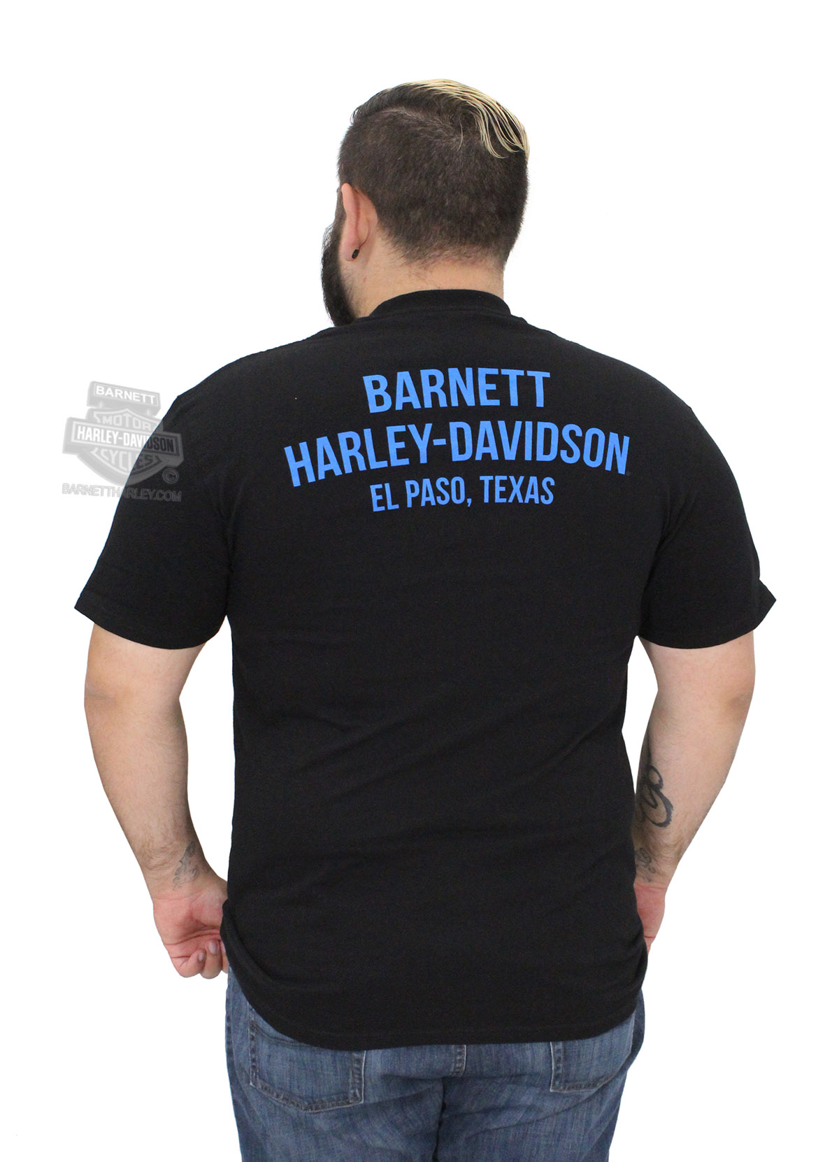 Harley-Davidson® Mens Mortal Heritage B\u0026S Pocket Black Short ...