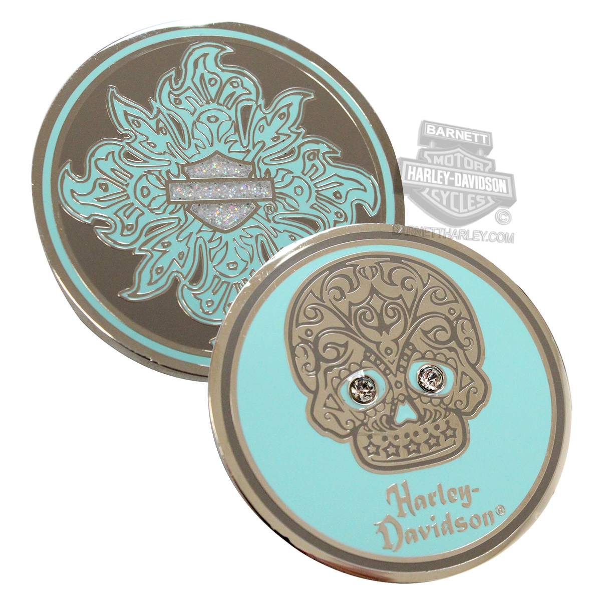 Harley-Davidson® Ladies Restless Sugar Skull 1.75