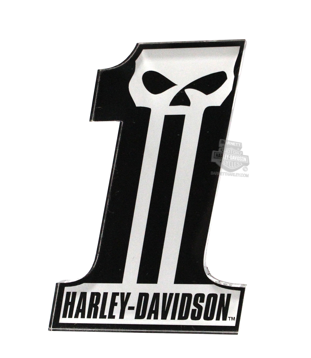 8004965 Harley Davidson 174 Mens Long Tooth 1 Skull Logo
