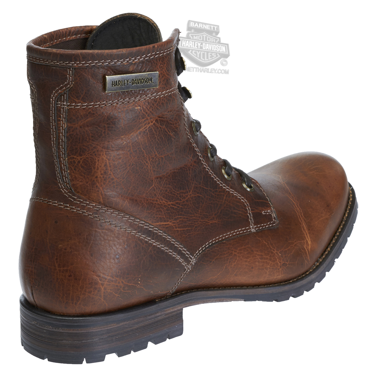 93318 harley davidson 174 mens jutland brown leather low