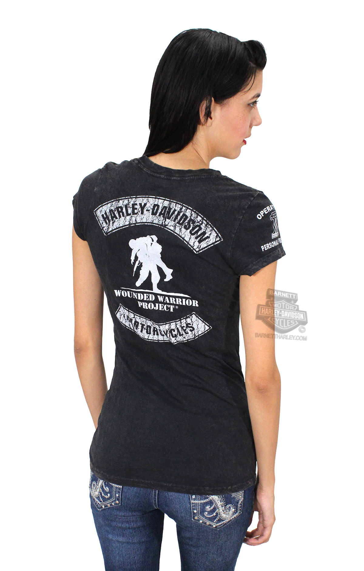 Harley Davidson Wounded Warrior Project T Shirts