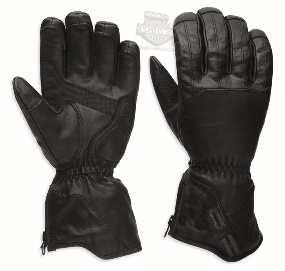Mens leather gloves size 2x - Small Big Sizes Only Harley Davidson Mens Vagrant Waterproof