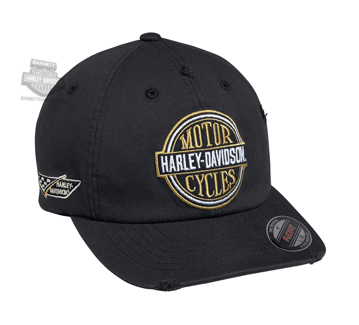 Harley Davidson Fitted Hats: Harley-Davidson® Mens Vintage Patch Flexfit