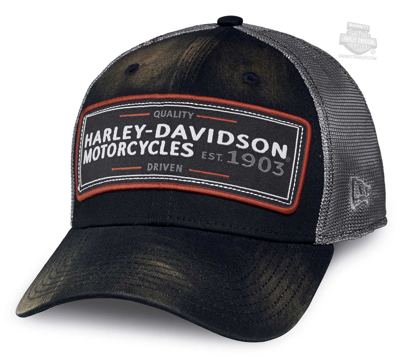 Harley Davidson Fitted Hats: Harley-Davidson® Mens Eagle Print Mesh Back