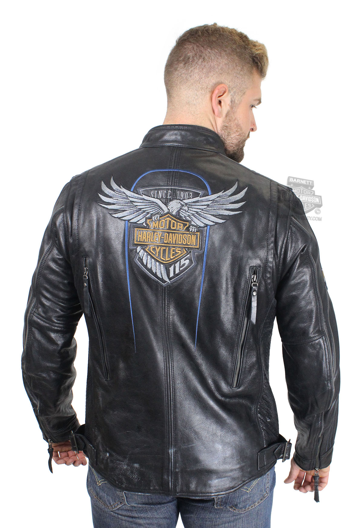Harley Davidson Dog Jacket Black