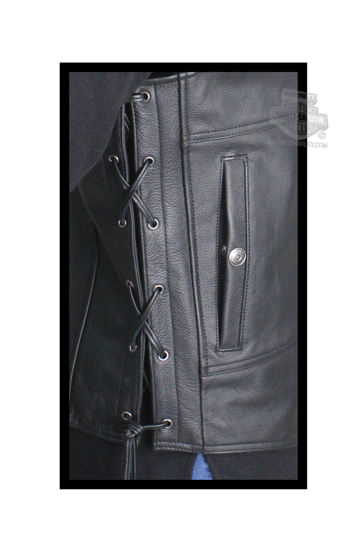 Harley Davidson 174 Mens Tradition Ii With Embossed Graphics
