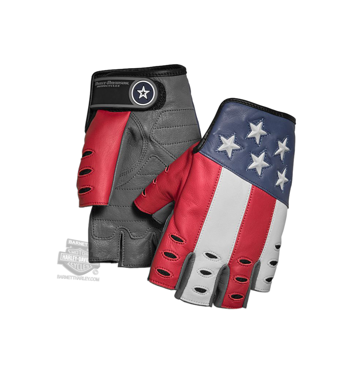 98106 19vm Harley Davidson 174 Mens Patriot Red White