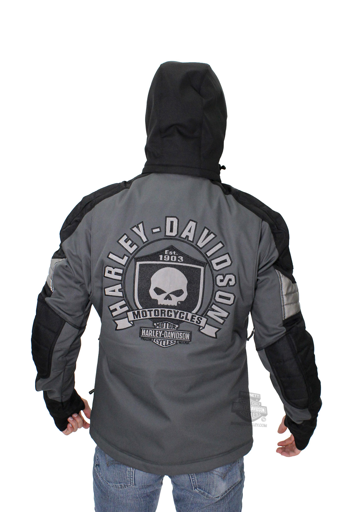 Harley Davidson 174 Mens Ridgeway Willie G Skull Waterproof