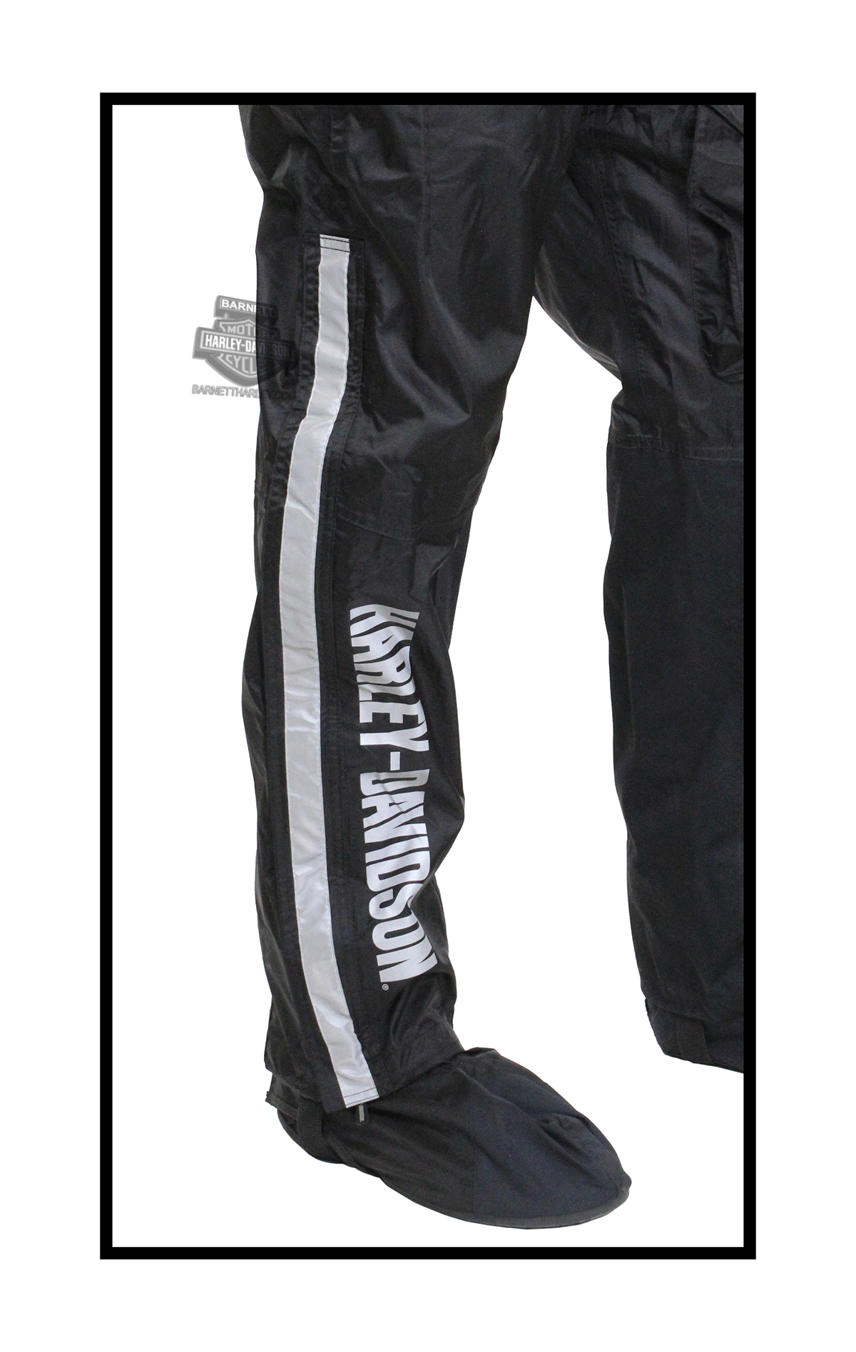 Harley Davidson 174 Mens Waterproof Rain Pant With Rain