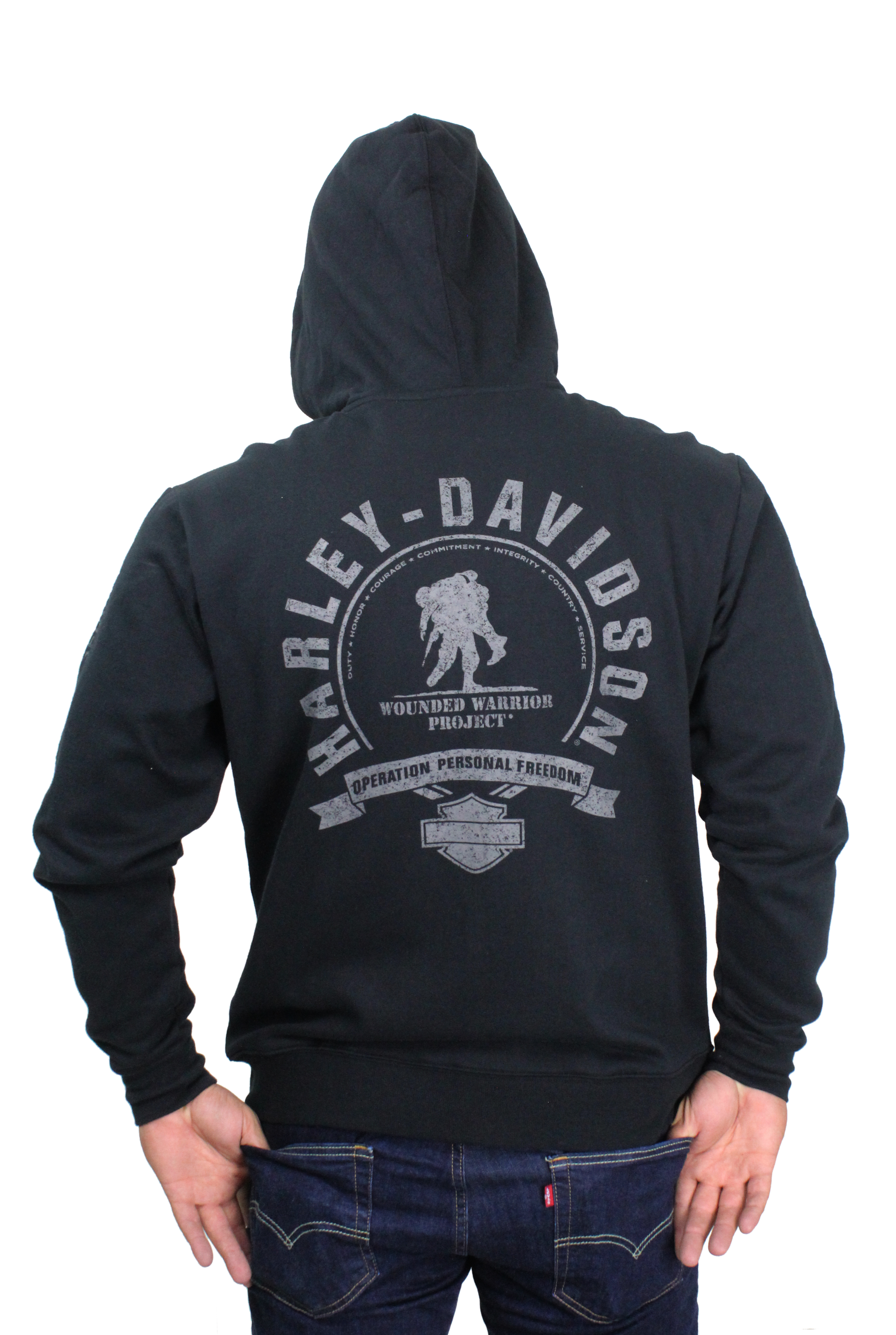 wounded warrior project hoodie The wounded warrior project collection helps create awareness and support the many ways we honor and empower wounded veterans when you purchase our harley-davidson wounded warrior stars & stripes hoodie, we donate 10% of the suggested retail price back to the wounded warrior project.