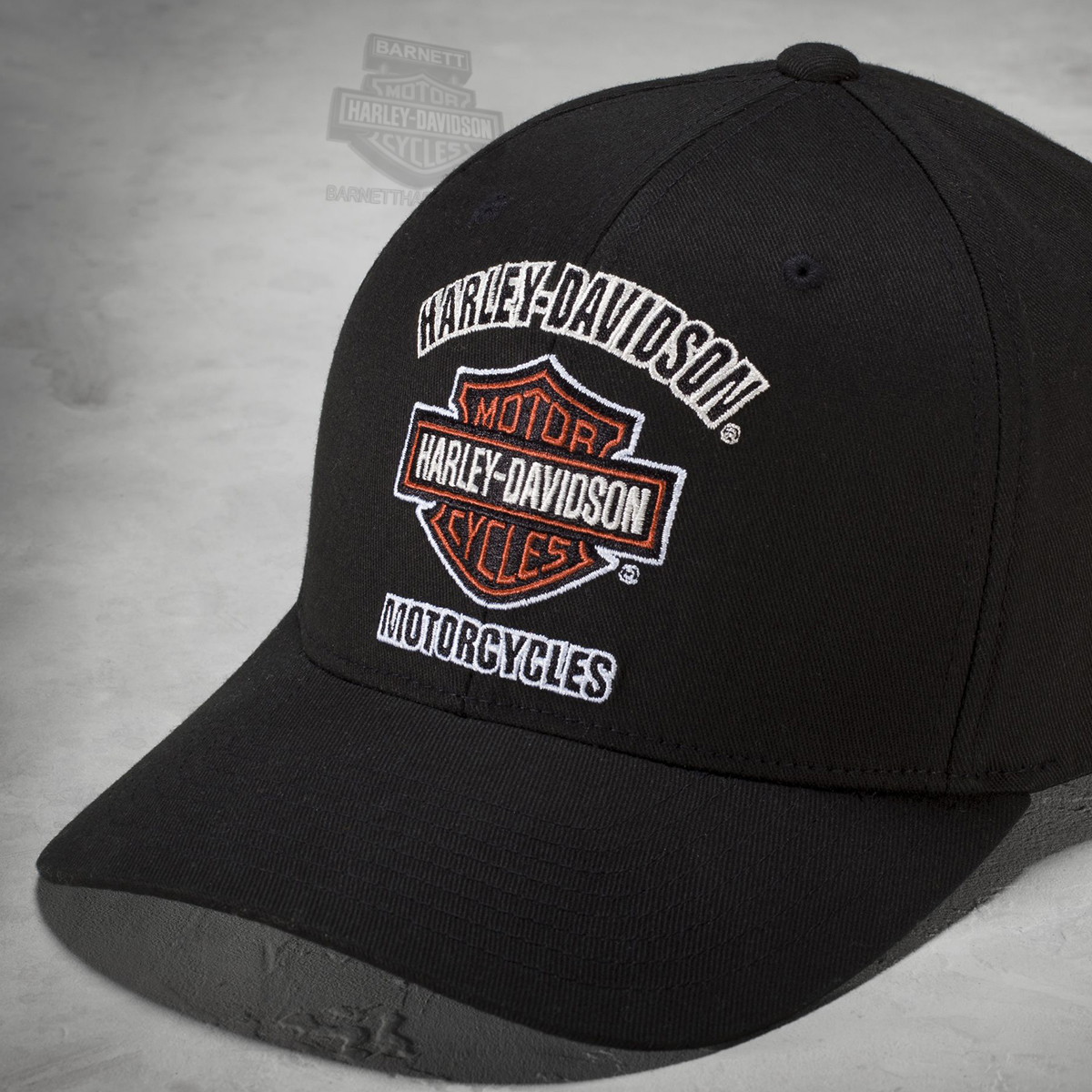 Harley Davidson Fitted Hats: Harley-Davidson® Mens B&S Traditional Logo