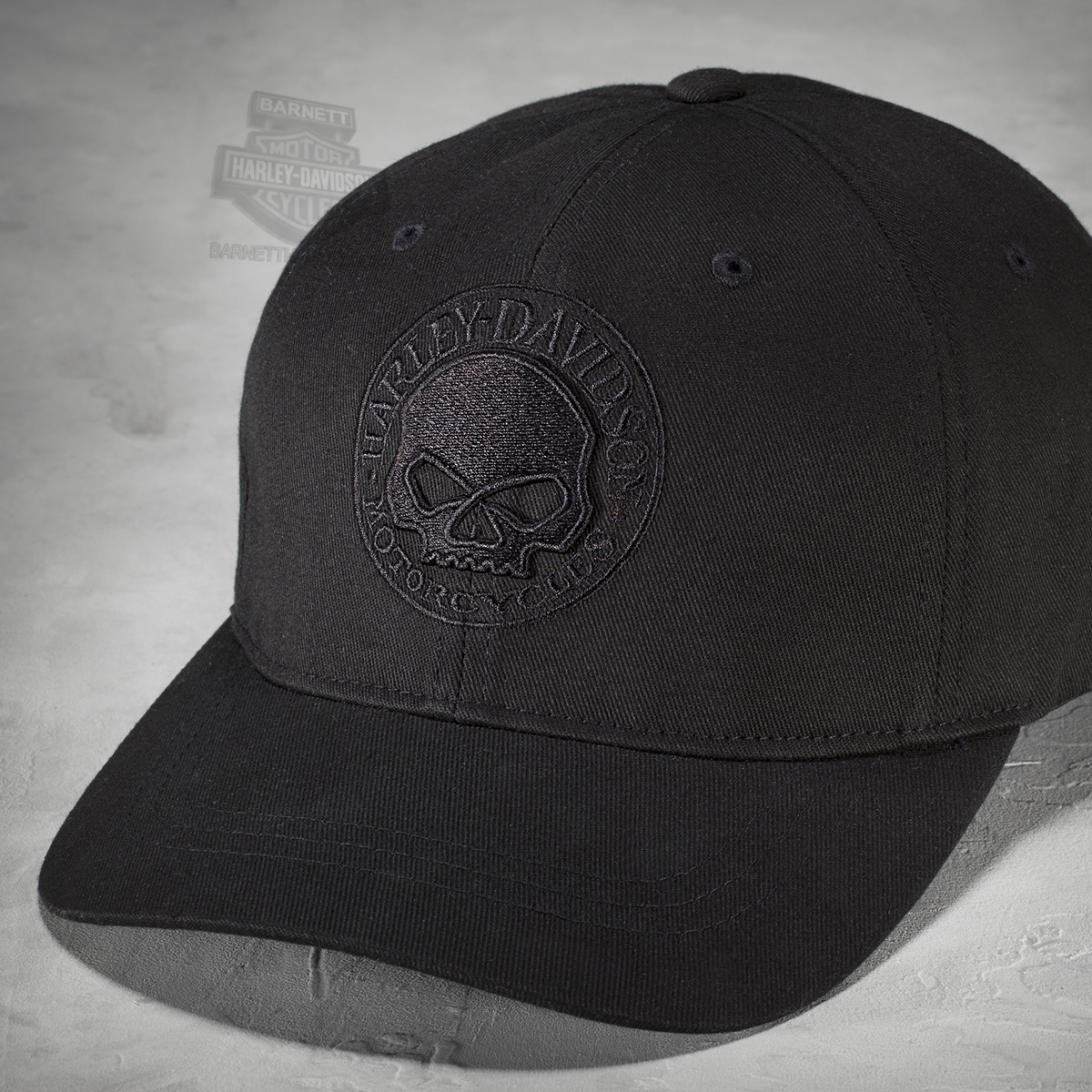 4de6ee925 99421-16VM - Harley-Davidson® Mens Willie G Skull Embroidered ...