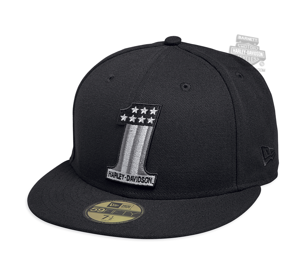 Harley Davidson Fitted Hats: Harley-Davidson® Mens Tonal #1 59FIFTY® By