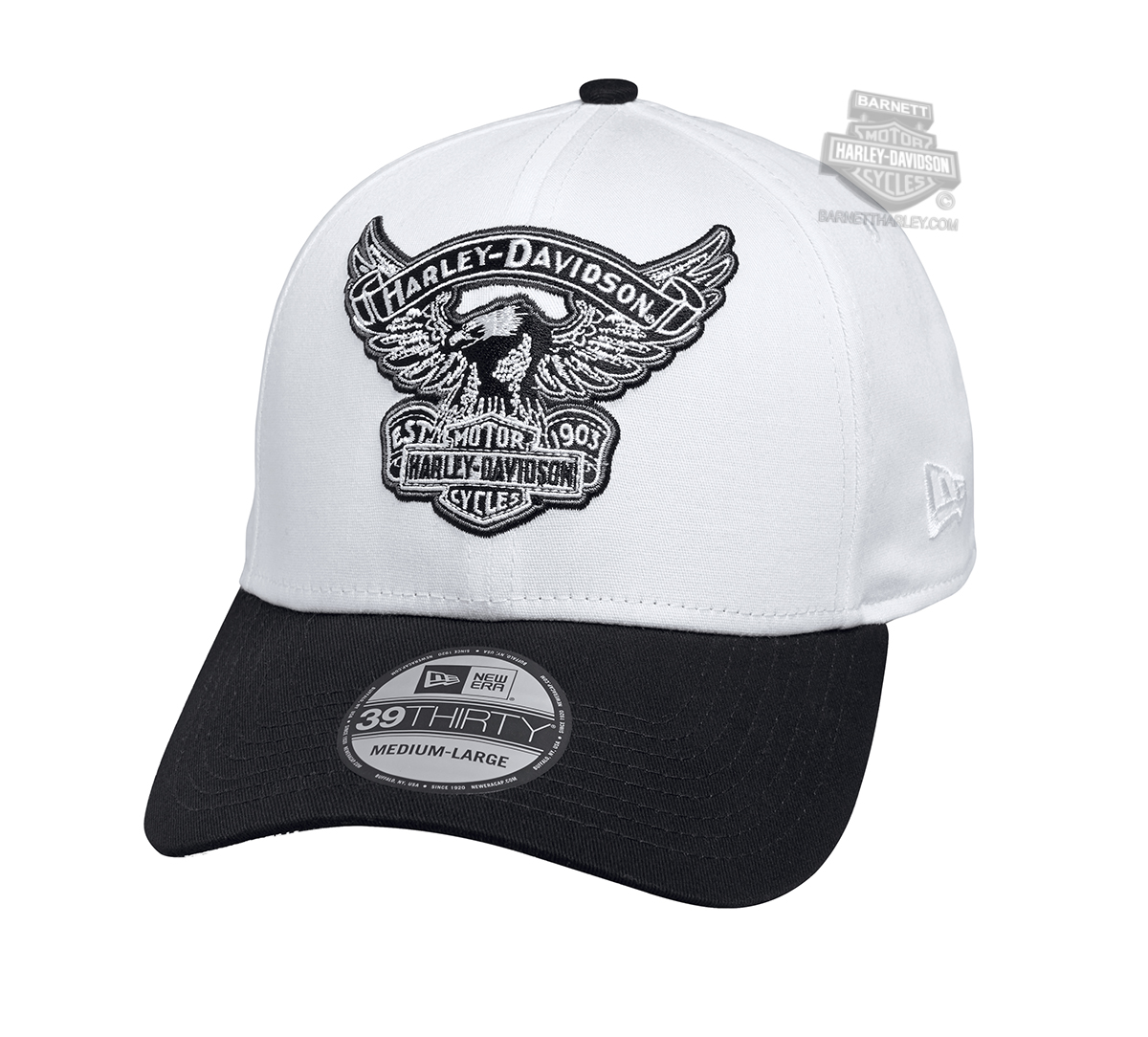 Harley Davidson Fitted Hats: Harley-Davidson® Mens Eagle B&S 39THIRTY® By