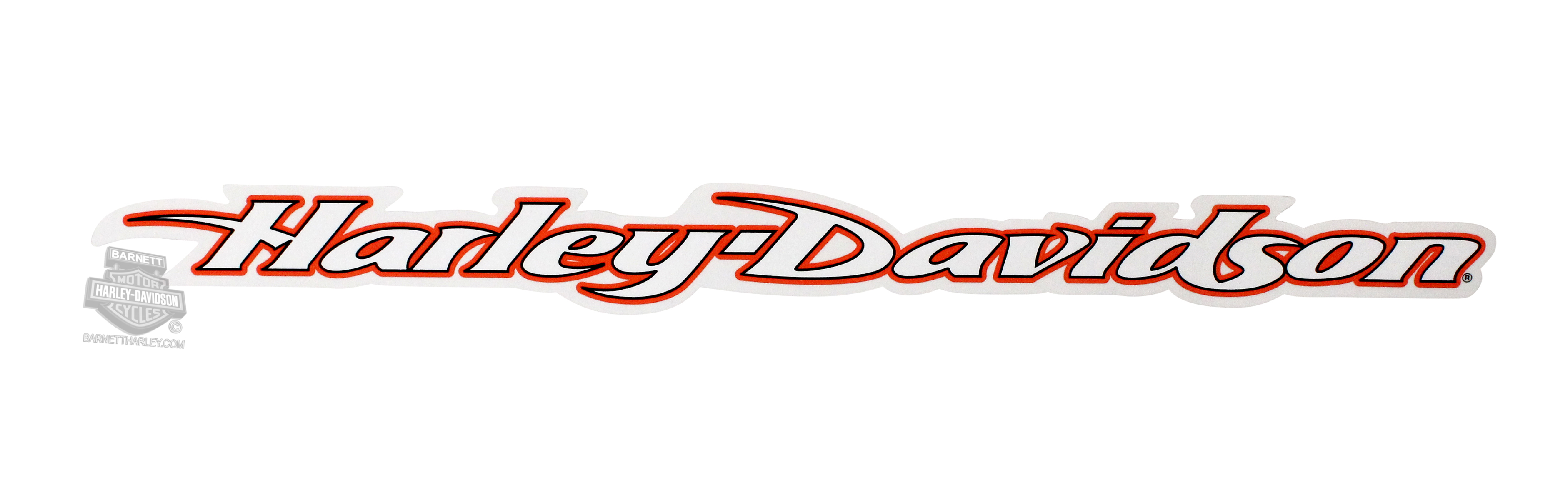 Harley-Davidson® H-D Name Cut To Shape Decal