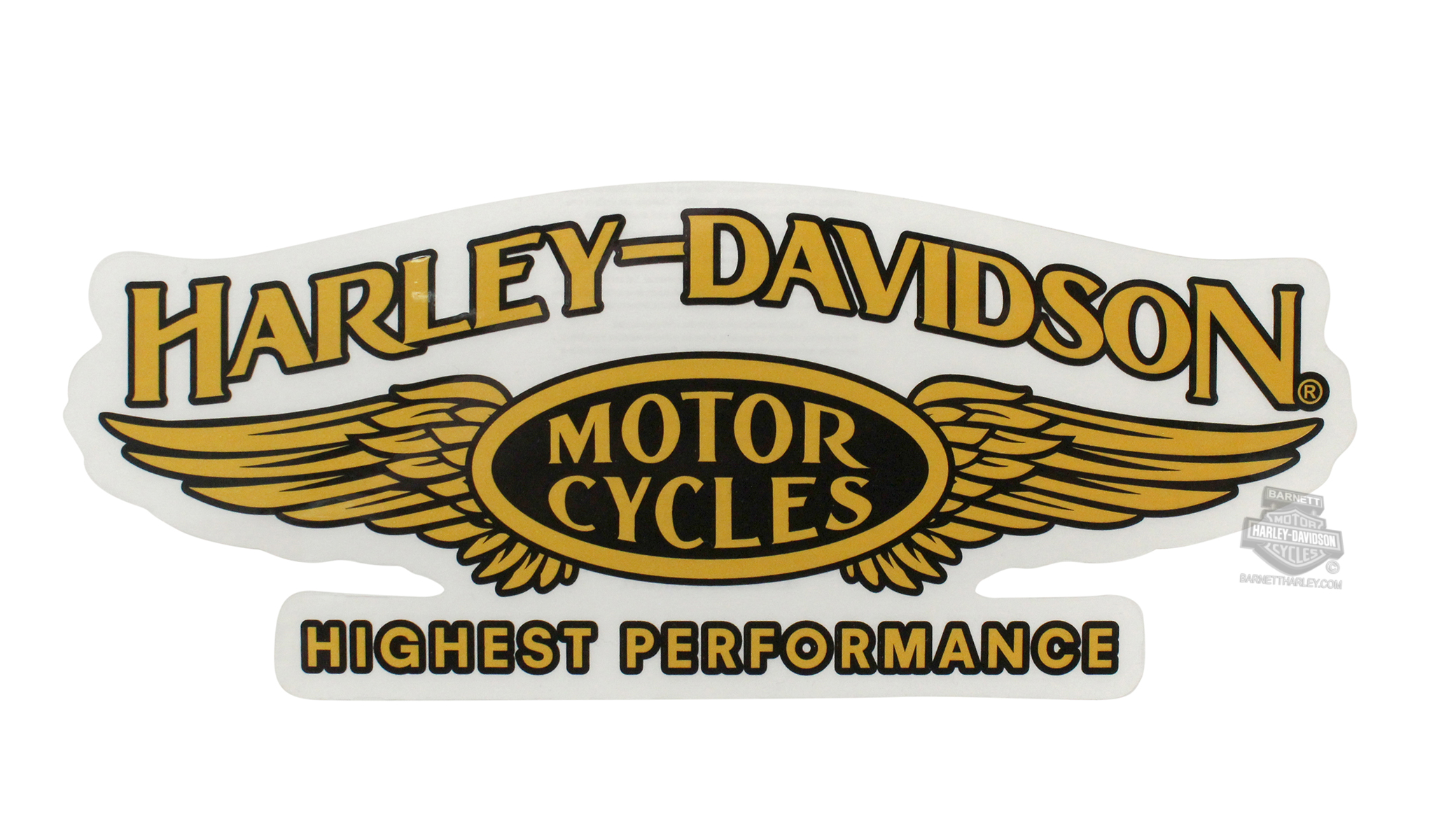 Harley-Davidson® Highest Performance Wings Large Decal