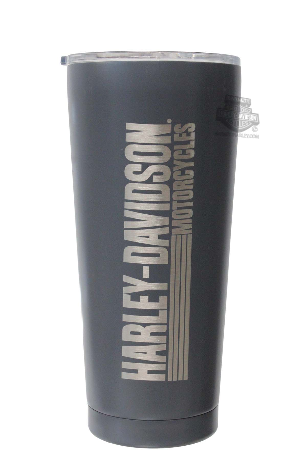 Ee 3ssb4912 Harley Davidson Etched H D Name Double Wall Stainless Steel Tumbler Barnett Harley Davidson