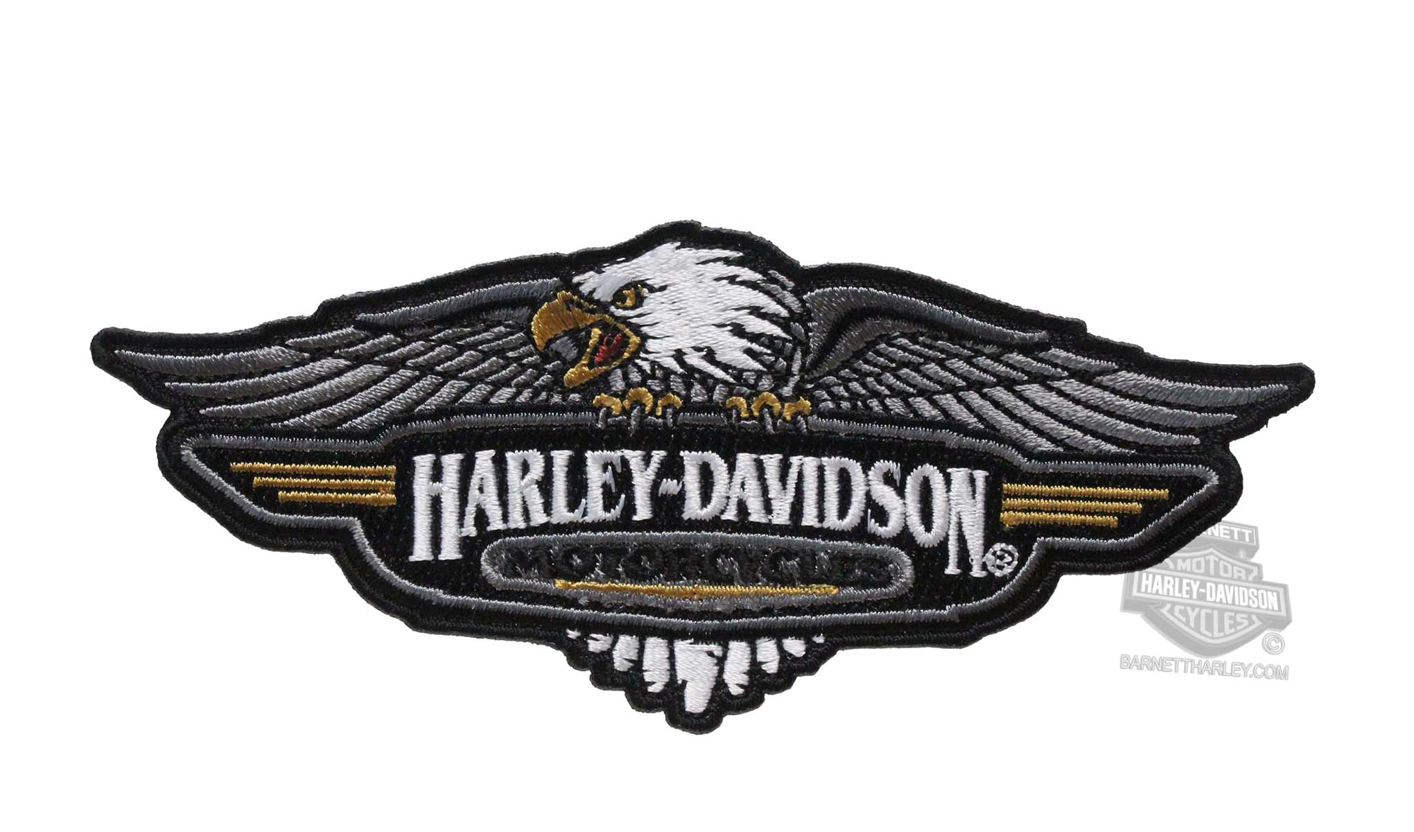 Harley Davidson 174 Mens Vintage Logo Eagle Medium Patch