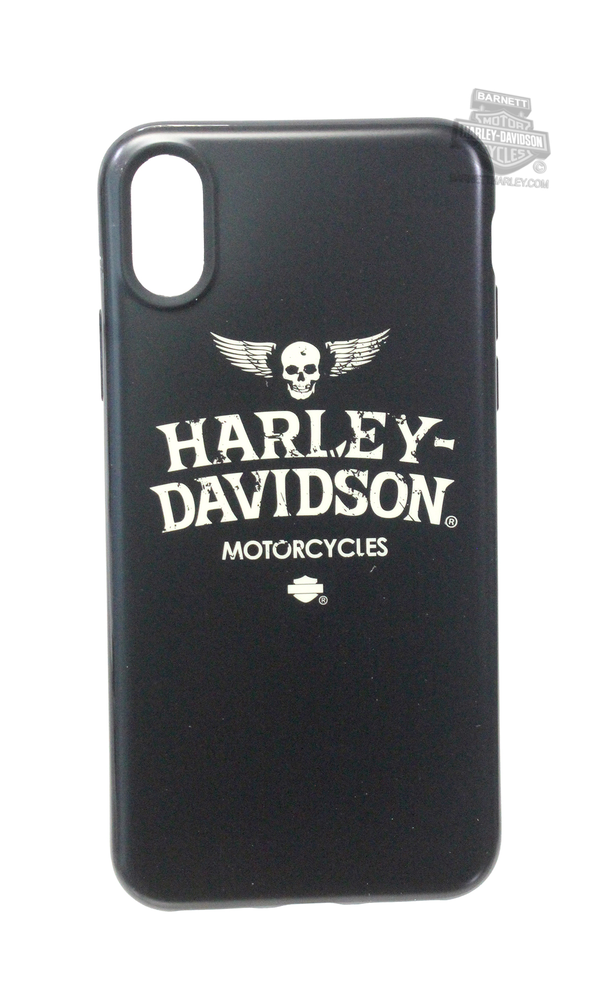 separation shoes f33b5 1dcdb FG07917 - Harley-Davidson® Mens iPhone X Winged Skull TPU Flexible ...