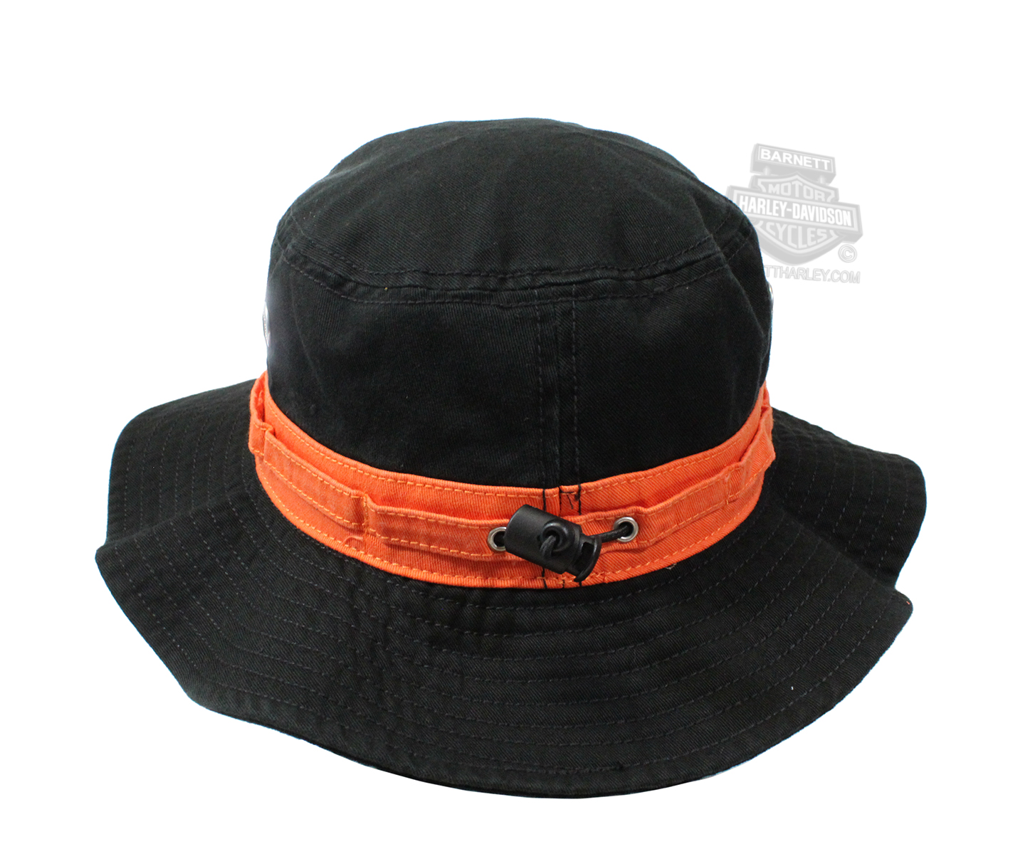 9cebb668cad9d FM-HD-482 - Harley-Davidson® Mens Embroidered Willie G Skull Black Cotton Boonie  Hat - Barnett Harley-Davidson®
