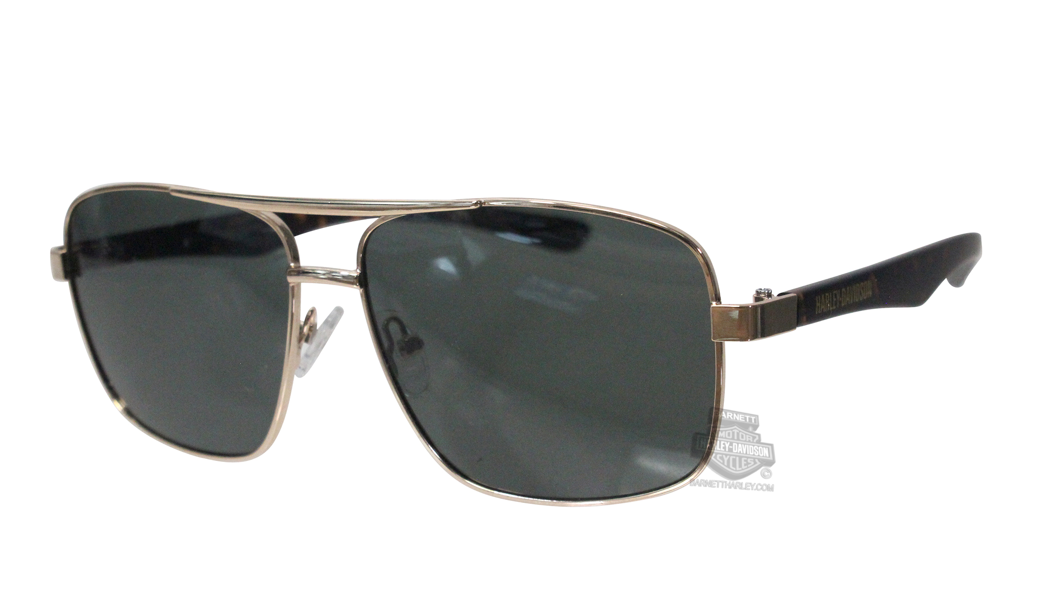 c797fd87dfc Harley-Davidson® HD0209S32R Gold Frame Green Polarized Lens Sunglasses by  Marcolin Eyewear Sunglasses