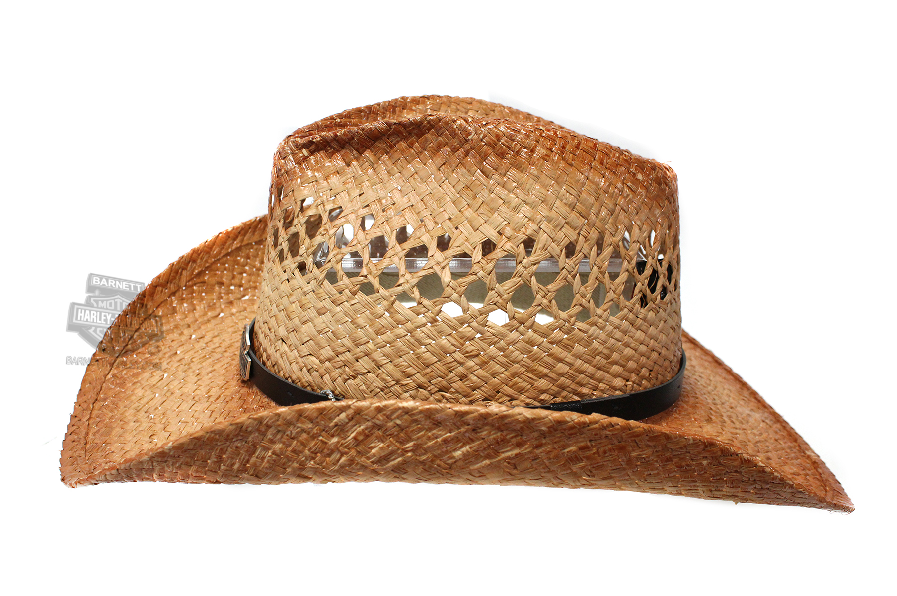 ... Harley-Davidson® Black Band B S Medallion Straw Hat Natural HD-715. Tap  to expand 782caf75e458