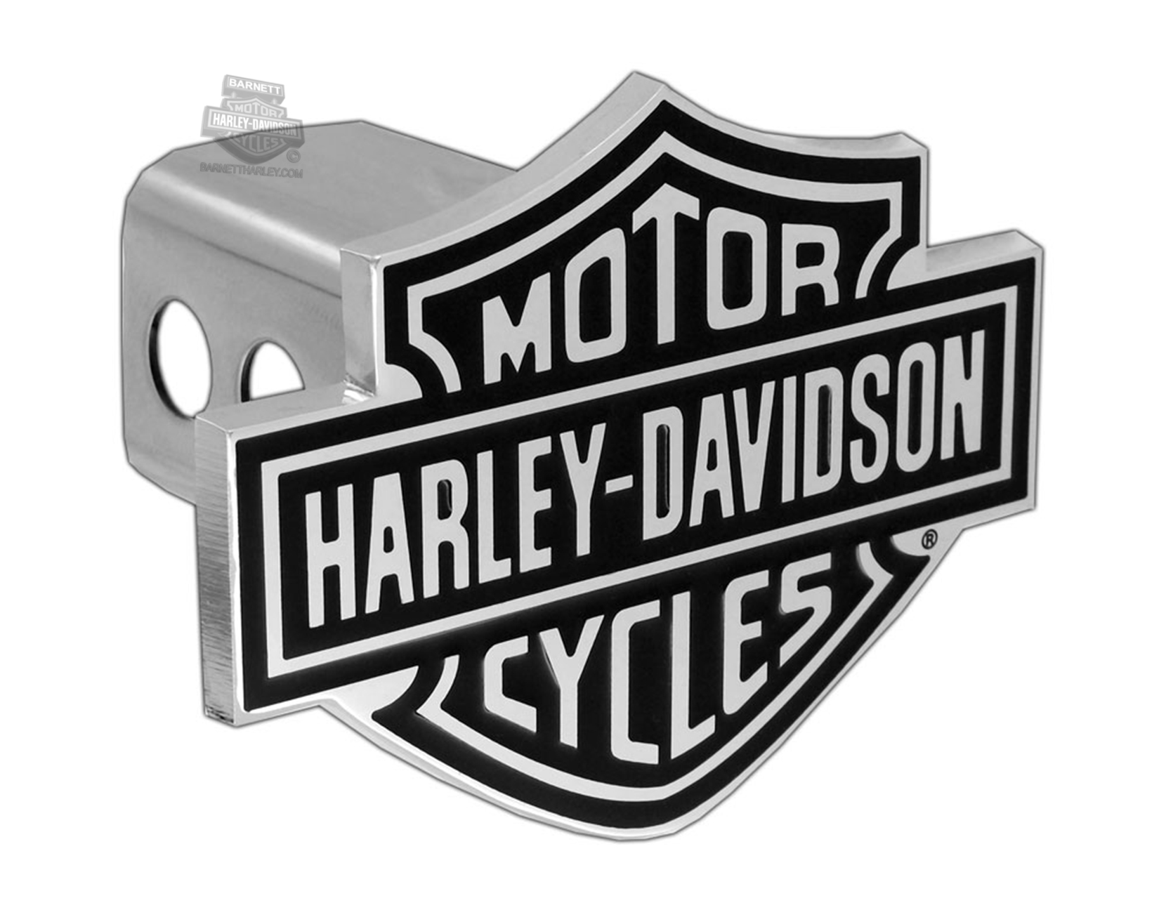 Harley-Davidson® Hitch Cover Black B&S