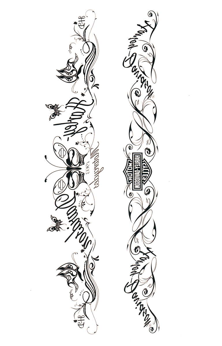** 2 for $5 ** Glamour Band Temporary Tattoo Arm Band