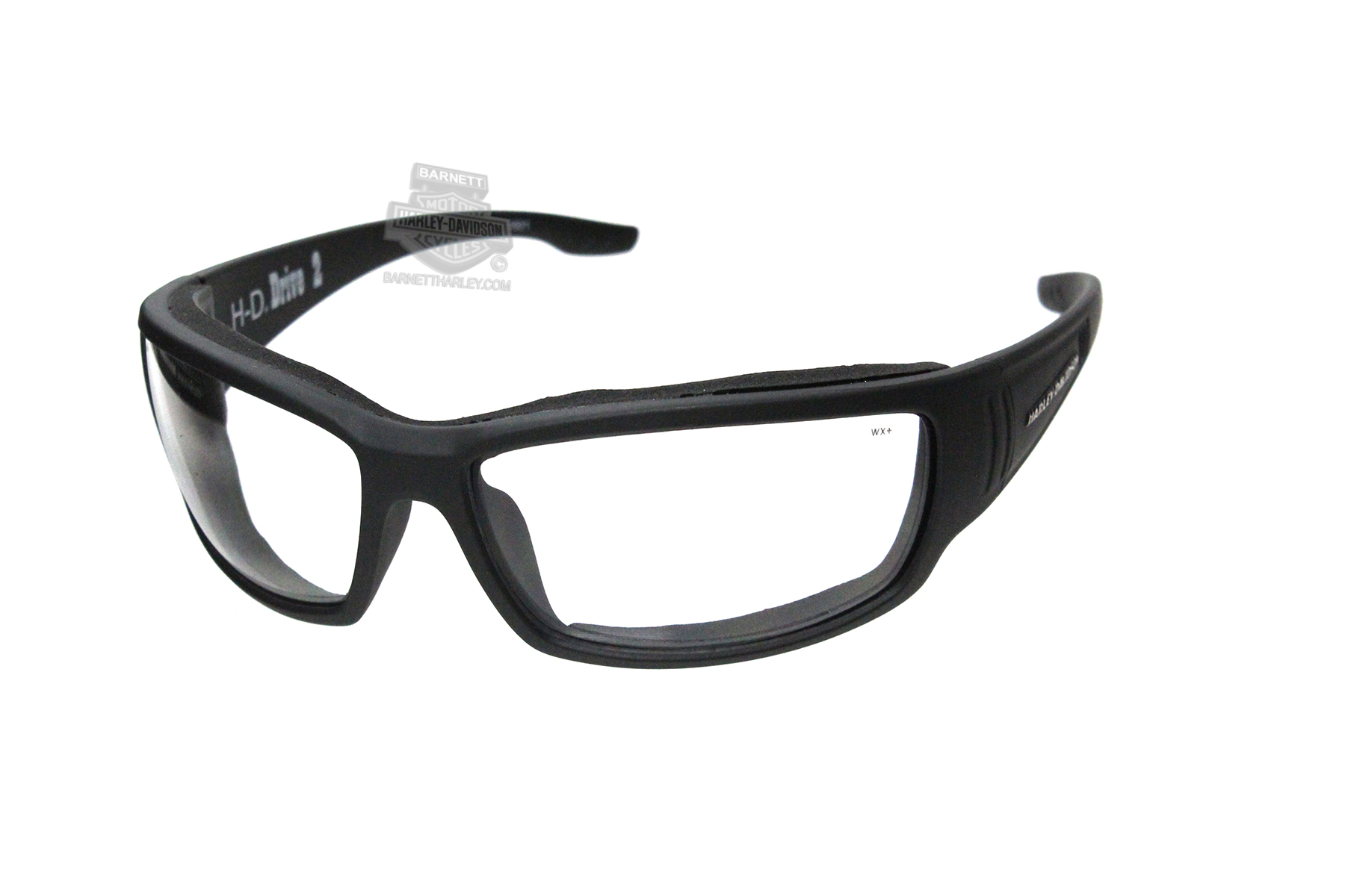 ae01715d205e Harley-Davidson® HD Drive 2 Clear lens in a Matte Black Frame Sunglasses by Wiley  X®