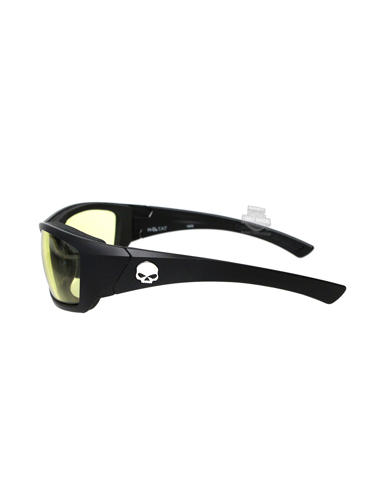3839d4fbbe6 Harley-Davidson® HD Tat Yellow Lens in a Matte Black Sunglasses or ...