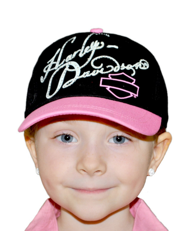 Harley-Davidson® Twill Girls Cap Kids