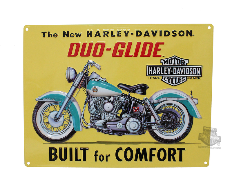 Harley-Davidson® Built For Comfort Tin Sign