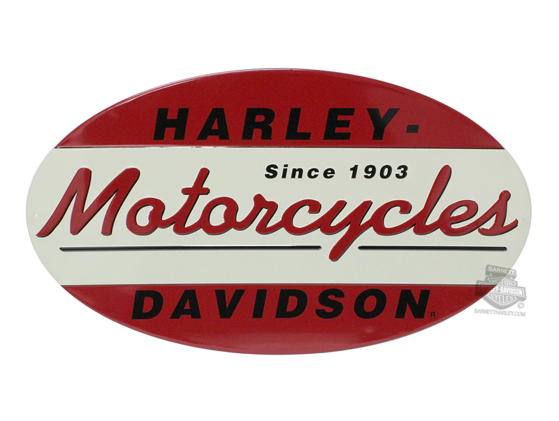 Harley-Davidson® 1903 Oval Tin Sign